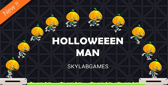 halloween man game psd by skylab_tech google play demo holloween man game psd included holloween man is amazing game unique game play and it is easy to