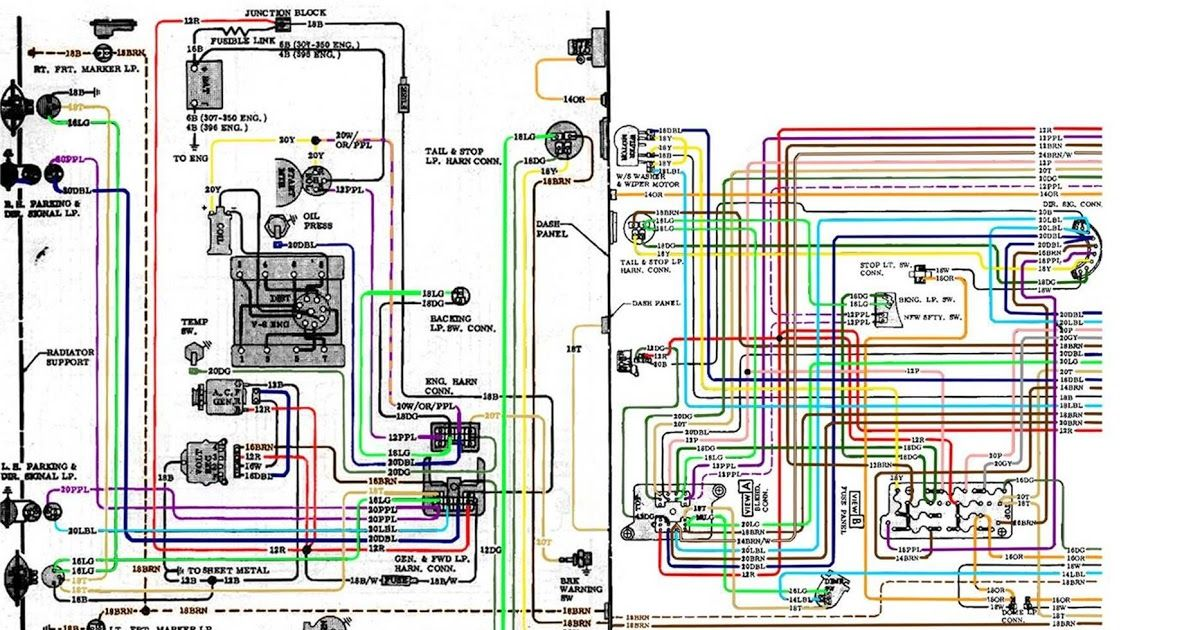 Pin By Maxi Rojas On Diagrama De Circuito In 2020 72 Chevy Truck Chevy S10 Chevy Trucks