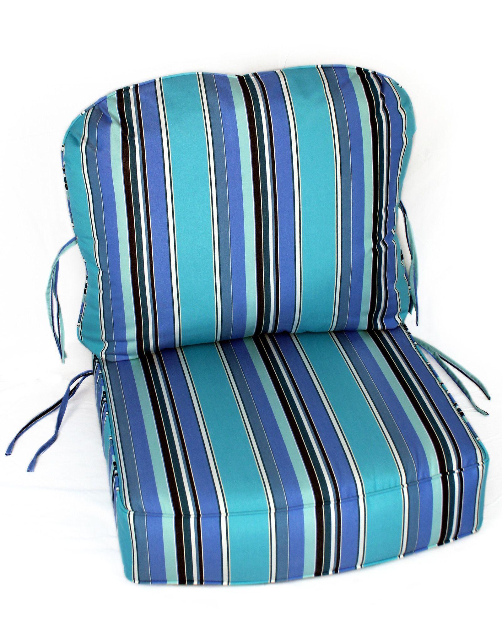 Indoor/Outdoor Sunbrella Deep Setting Chair Cushion