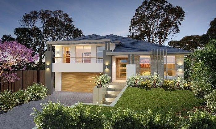 Split Level House Designs Nsw Split Level House Plans Split Level House Exterior Facade House