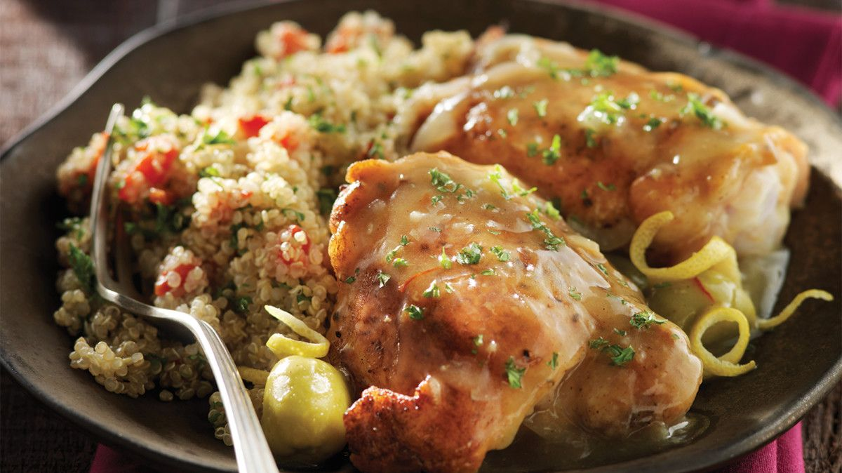 Moroccan Chicken Stew With Roasted Red Pepper Quinoa Recipe Recipe Clean Chicken Recipes Stuffed Peppers Chicken Stew