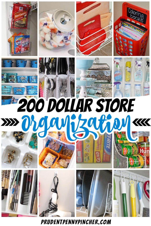 200 Diy Dollar Store Organization Ideas In 2021 Dollar Store Diy Organization Dollar Store Organizing Dollar Tree Kitchen Organization