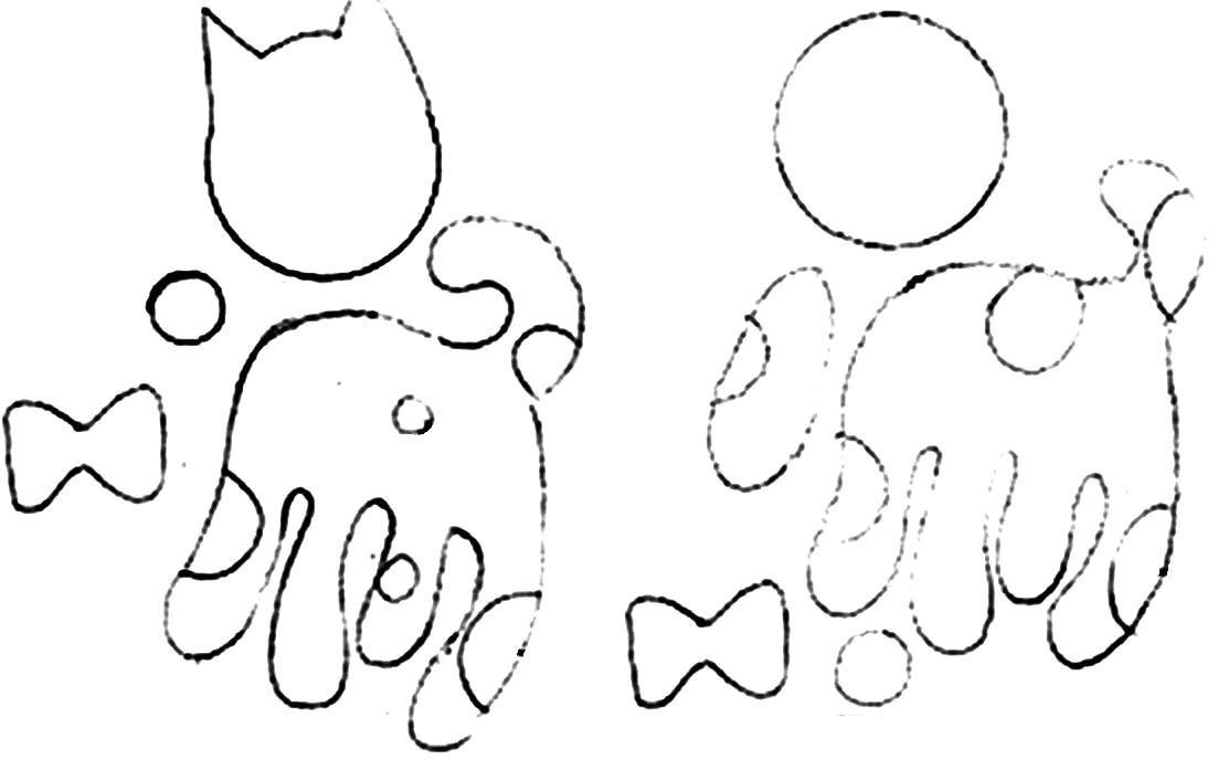 Pra Gente Miúda: Marca Páginas infantis com moldes