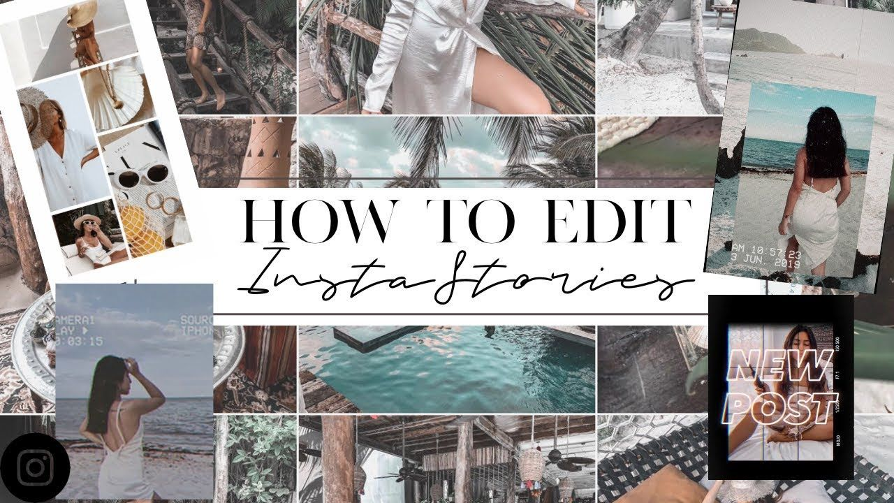 HOW I EDIT INSTAGRAM STORIES | FAVORITE APPS how to edit