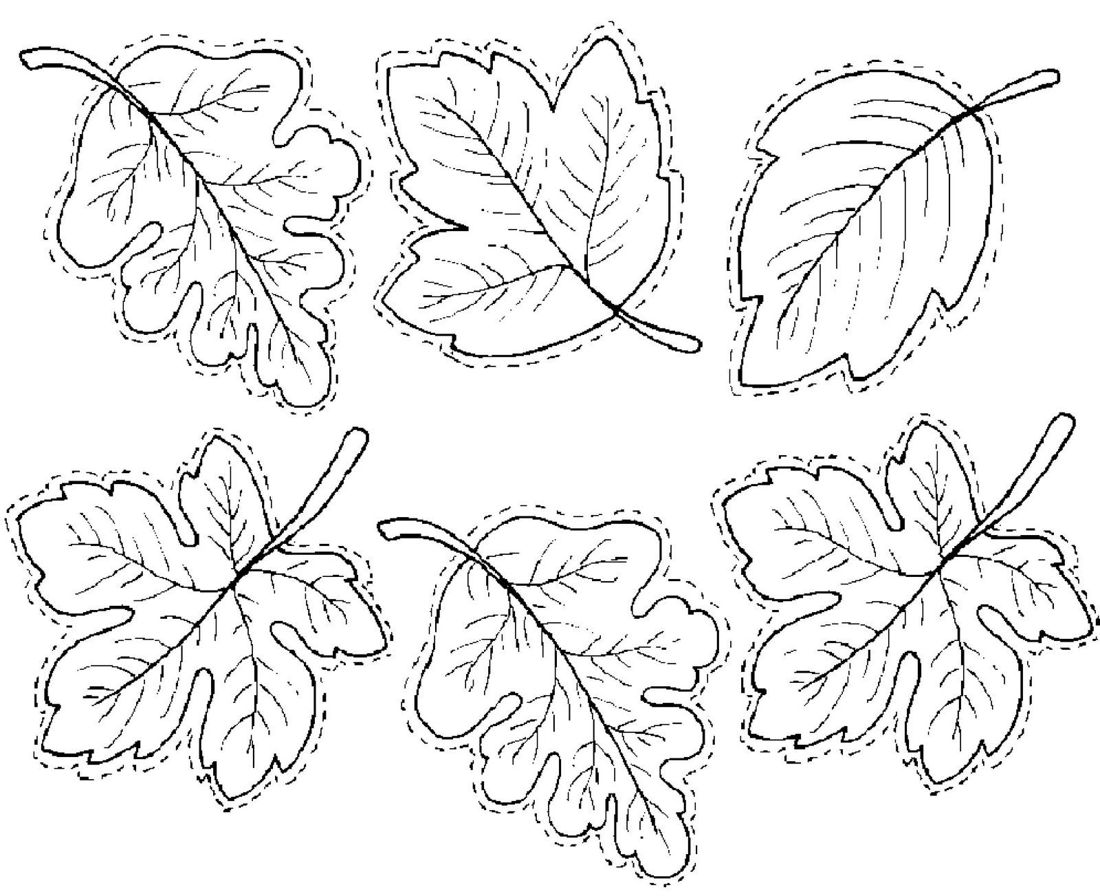 leaves Bellas hojas para pintar | flores | Pinterest | Hojas de ...