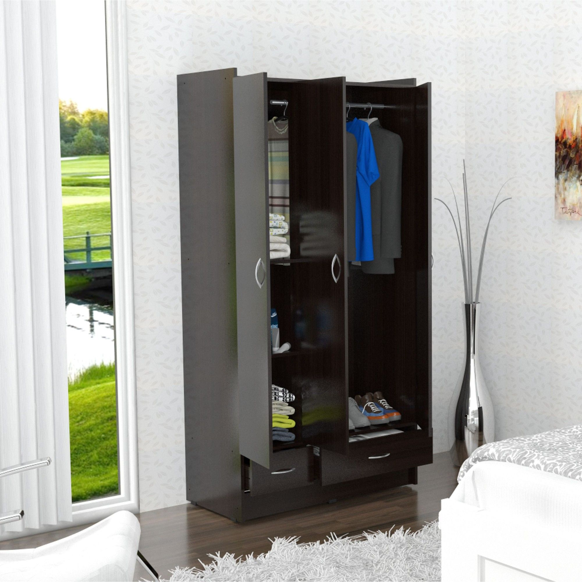 Mid-size wardrobes work for small and large home alike. Ranging ...