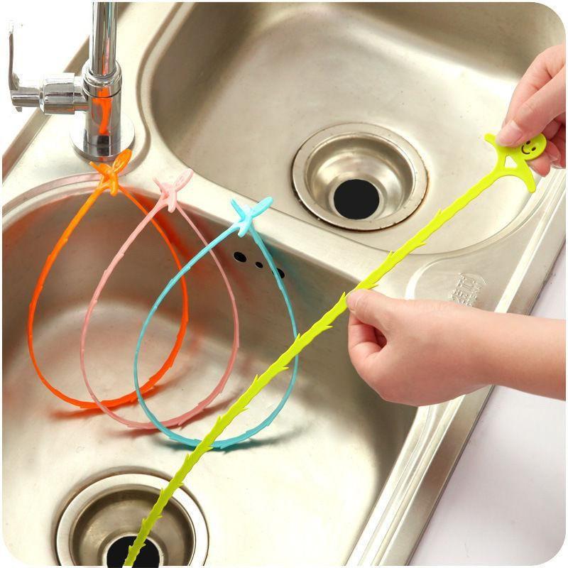 1pc Bath Toilet Drain Cleaner Hair Kitchen Garbage Remover Drain Sink Cleaner Us 0 55 Toilet Drain Clean Sink Clean Bathroom Shower