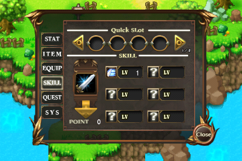 Four pieces of woosso: [iPhone games, iPod Touch Games - seed (Seed) (RPG)