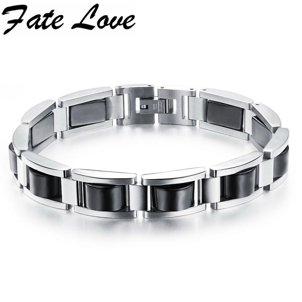 Magnetic hematite bracelet l stainless steel bracelet hematite