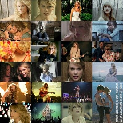 Taylor Swift S Music Videos Each And Every One 3 Taylor Swift Music Videos Taylor Alison Swift Taylor Swift