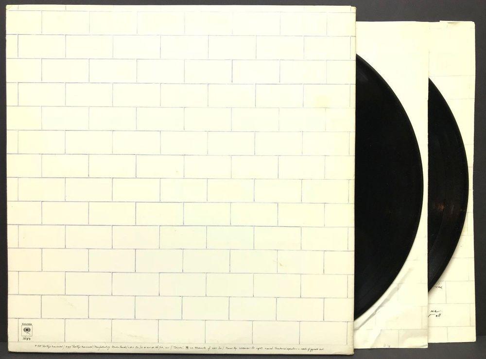 Pink Floyd The Wall 1979 Us Pc2 36183 Original Lp Vinyl Record Album Vinyl Record Album Pink Floyd Lp Vinyl
