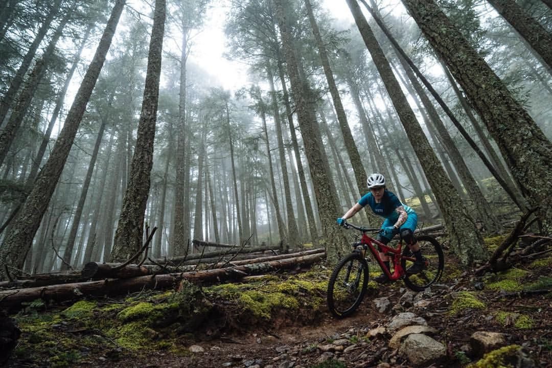 Walk Around The Halls At Yeti And You Ll Find Women Who Can Tear Your Legs Off On The Uphill And Mock You On T Mountain Bike Trails Bike Trails Mountain Biking
