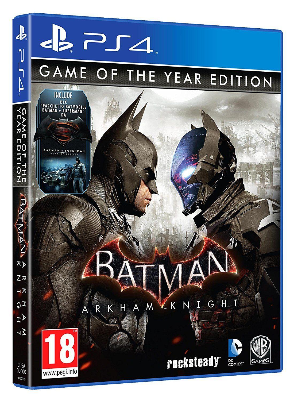Warner Batman Arkham Knight Goty Edition Amazon Co Uk