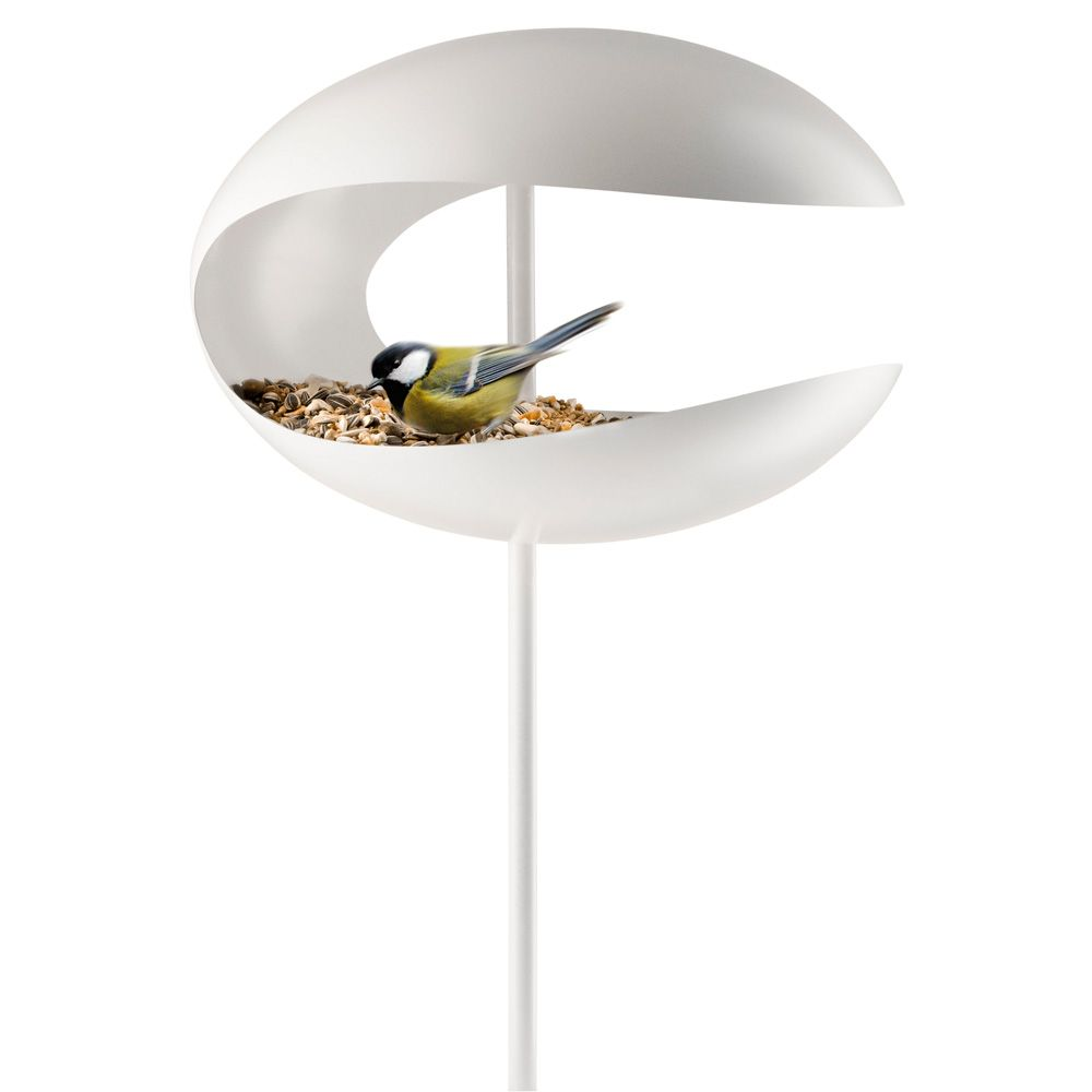 Bird table, standing, white - - Eva Solo - RoyalDesign.com ...