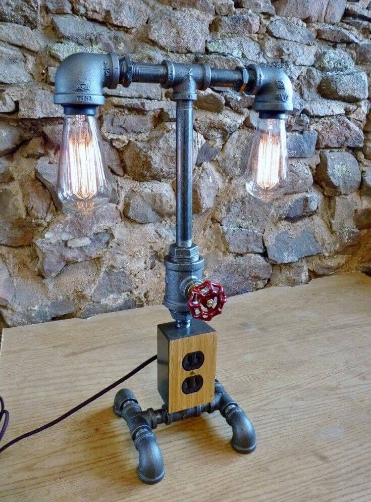 Diese Twin-Lampe-Modell verfügt über einen Wasserhahn-Dimmer und - badezimmerlampen mit steckdose