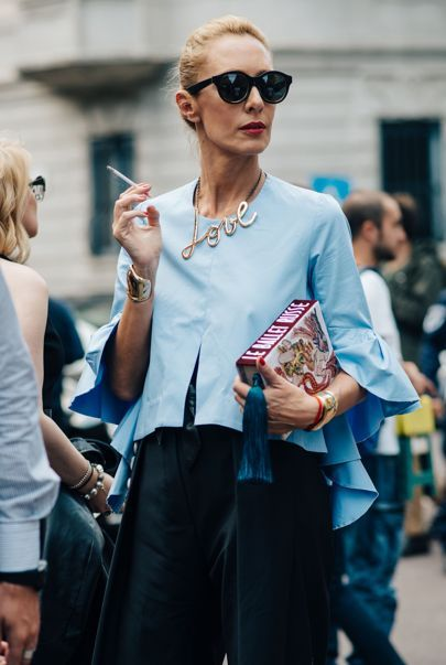 Take notes from Milan Fashion Week's best street style.