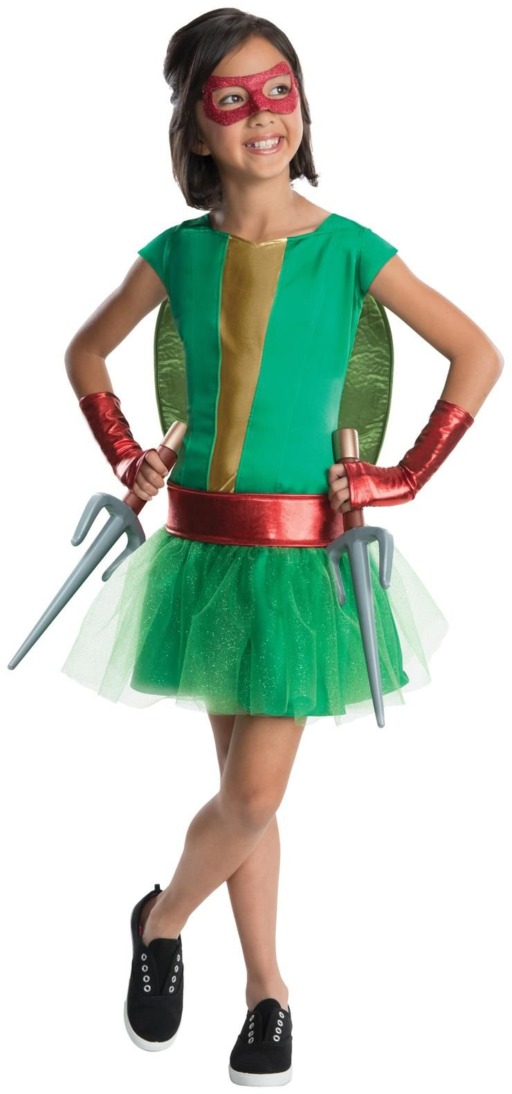 TMNT Deluxe Raphael Girl Tutu Costume
