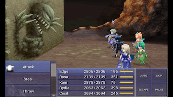 Game Boy Advance Final Fantasy Vi Review Gba Final Fantasy Iv