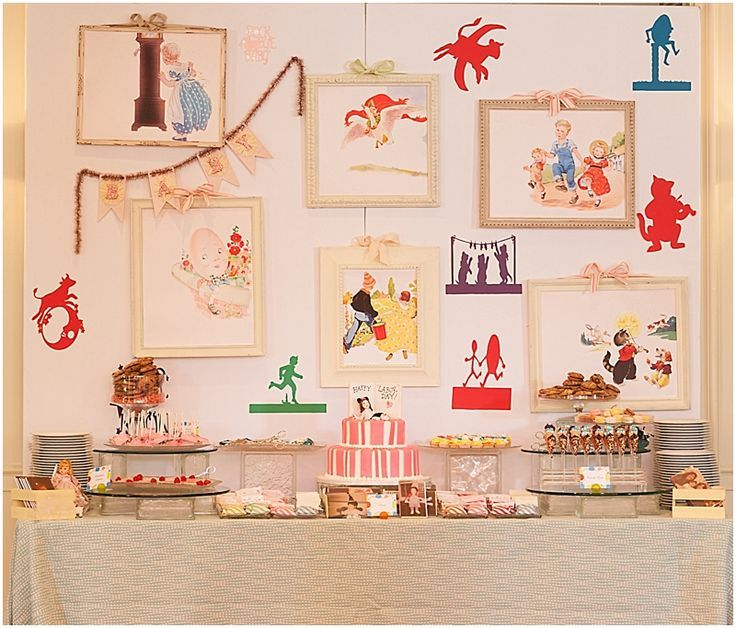 Nursery Rhymes Party Decor Google Search More