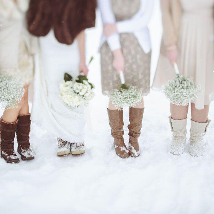 Outdoor Winter Wedding, Winter Wedding