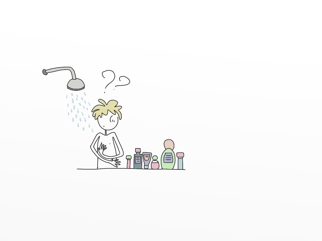 Uomini sotto la doccia