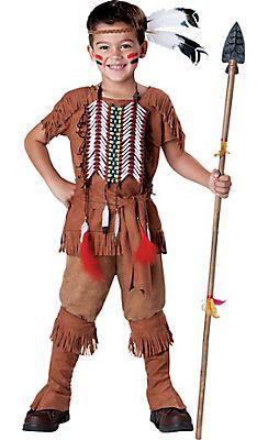 6d5308a18a Boys Native American Costume Elite   Peter Pan - Classic in 2019 ...
