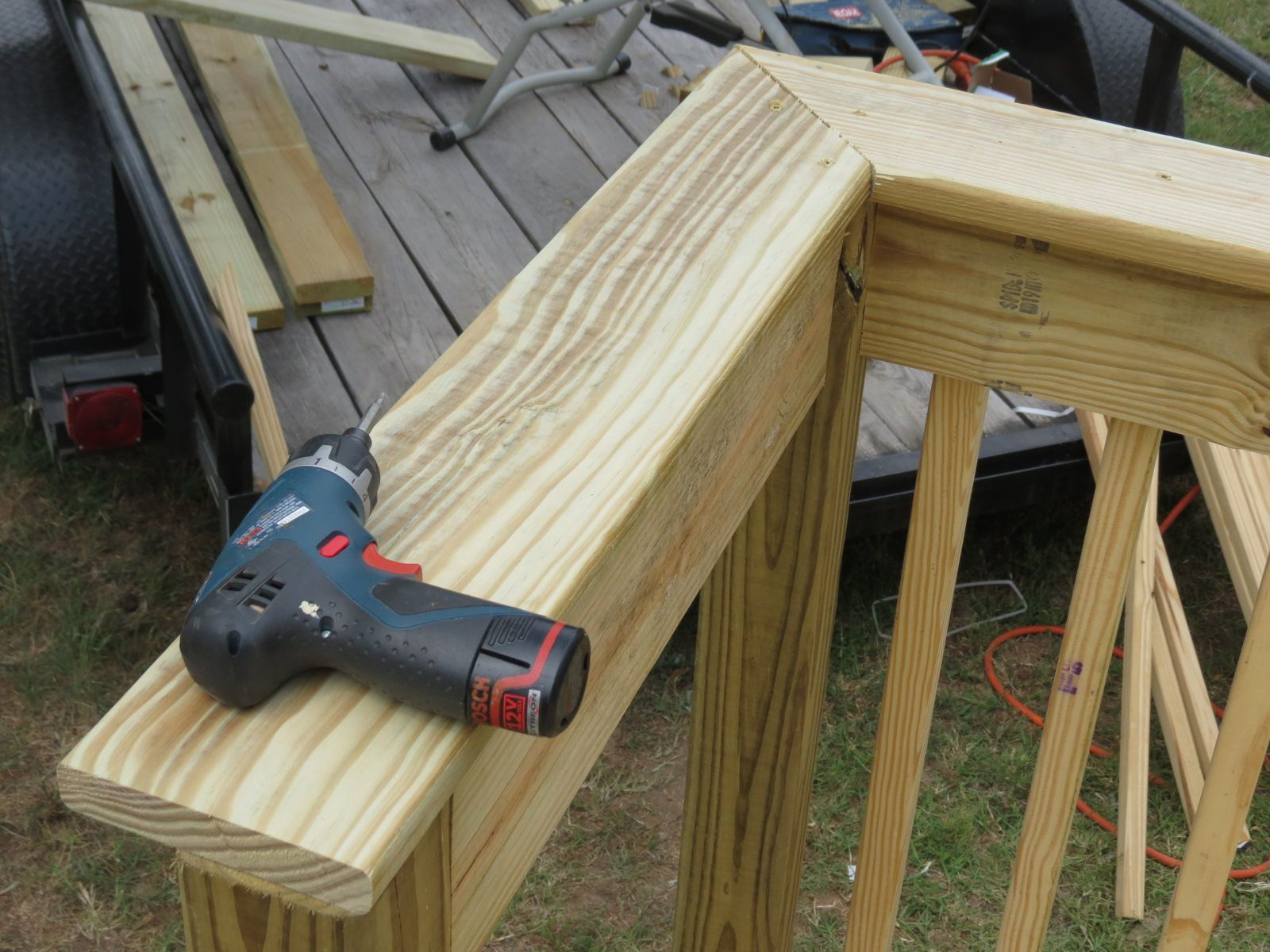 Best How To Install Deck Railing Add A Top Cap Like This One 400 x 300