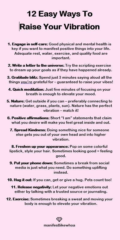 12 Easy Ways To Raise Your Vibration