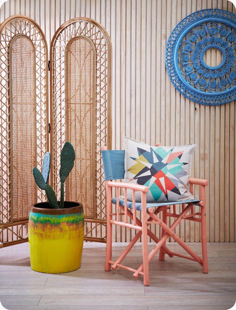 The family love tree palm planter pot cane furniture rattan furniture family love