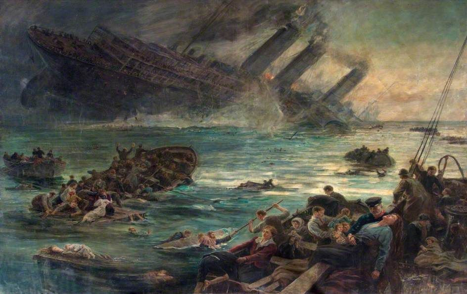 painted sinking ships - Google Search | Ships | Pinterest