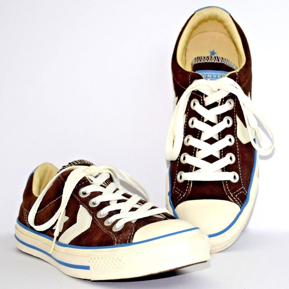 7c8afd23e906 Converse Reissue Sneakers All Star Player 111321 Brown Suede Men 5 Low  Women 7  Converse  Athletic