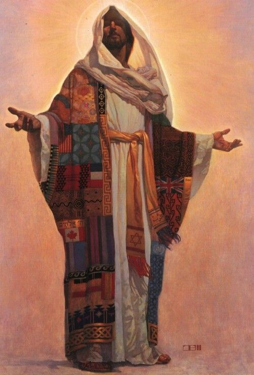 Multicultural images of jesus