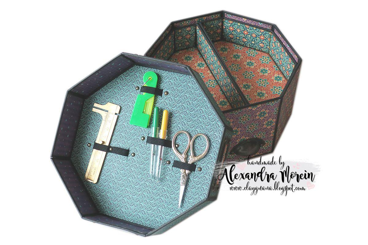 Octagon Sewing Box Tutorial