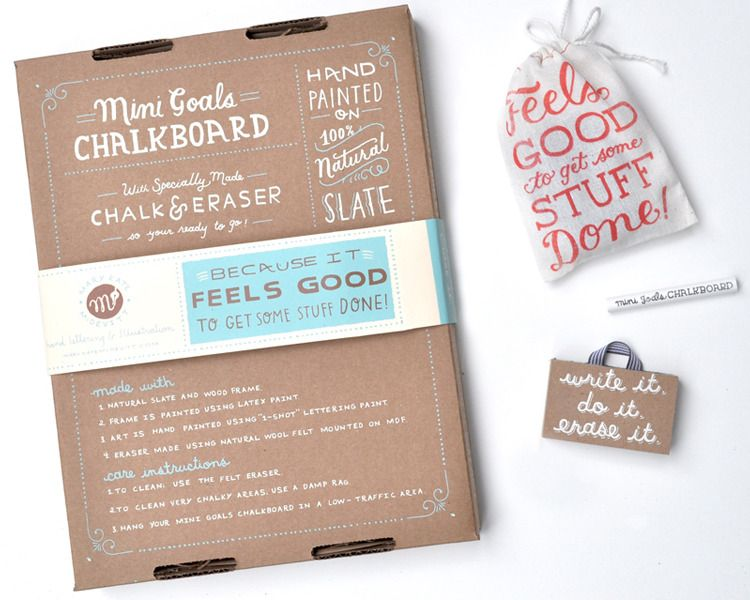 super cute mini chalkboards for daily goals, dreams, to dos, etc.