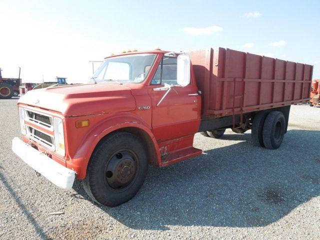 1970 Chevy C 50 Bobtail Truck Farm Trucks Gmc Trucks Dump Trucks