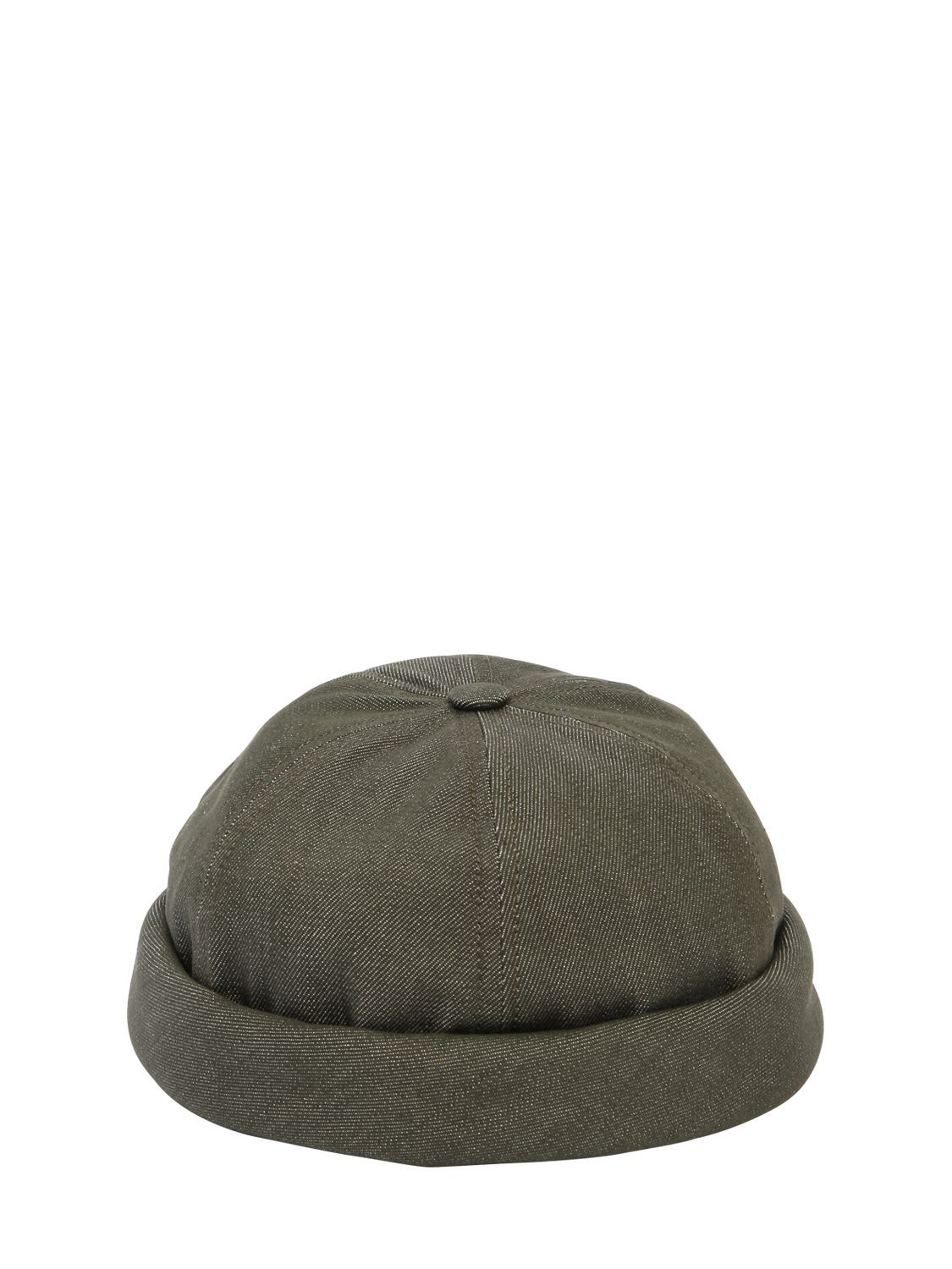 499b989ced5 BETON CIRE HANDMADE WASHED COTTON DENIM SAILOR HAT.  betoncire