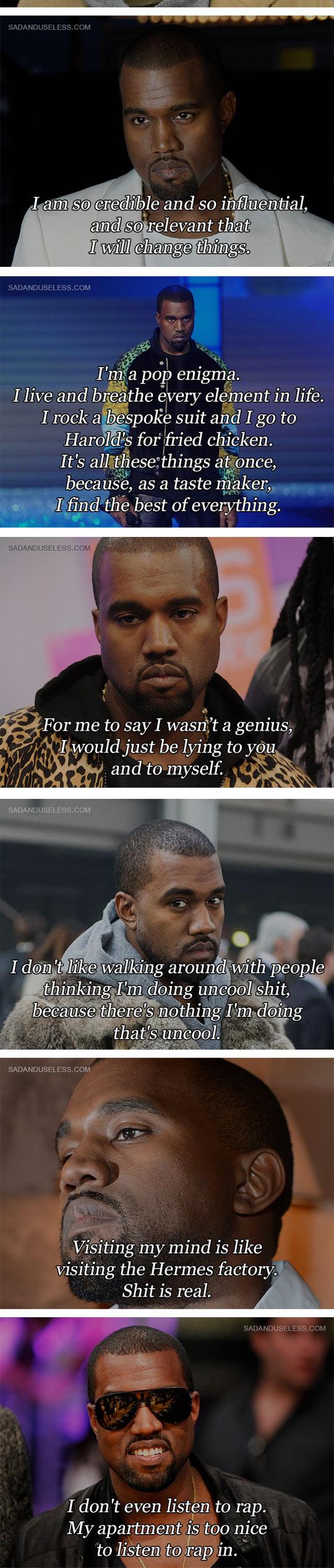 Some Kanye West Quotes Kanye West Quotes Kanye West Funny Kanye West
