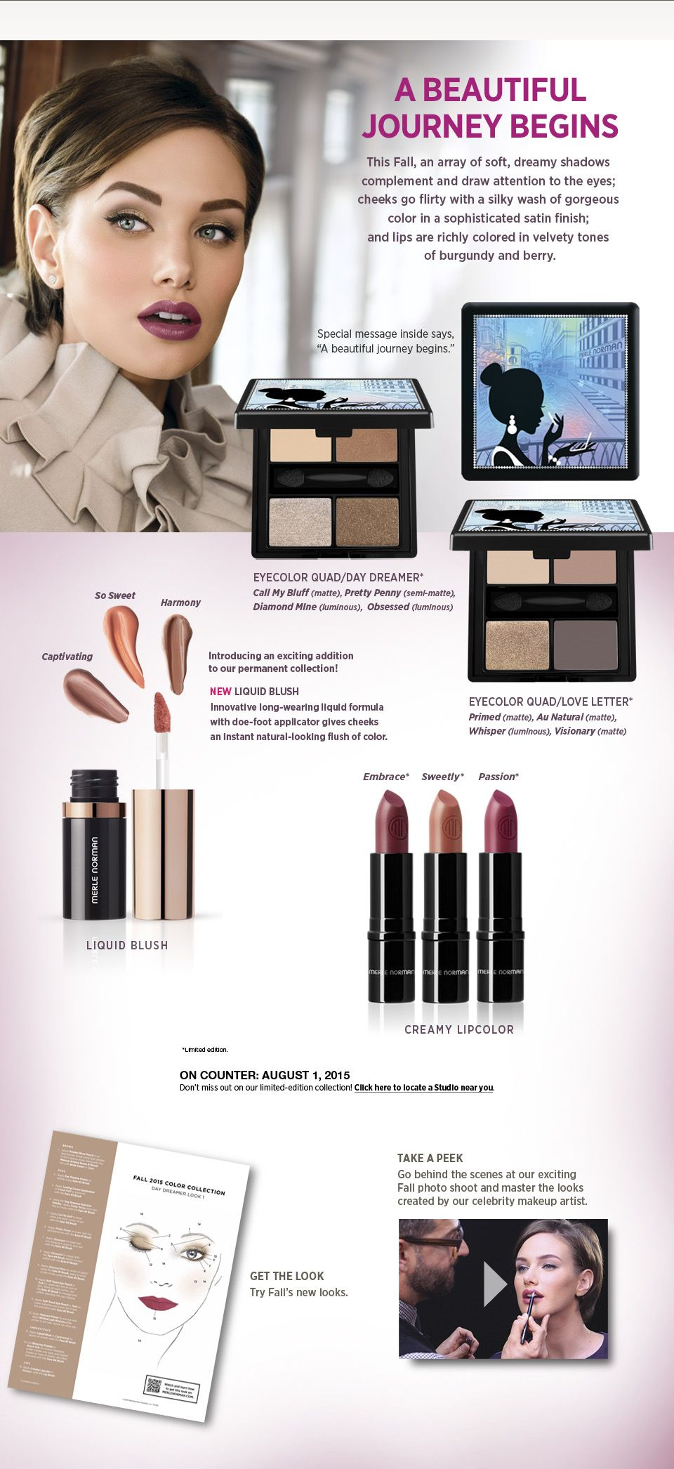 Beauty Color Collection / Merle Norman Cosmetics Beauty