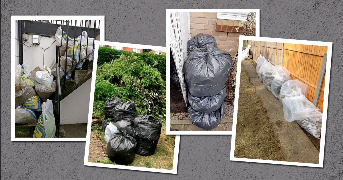 Belmont waste disposal company garden services in london