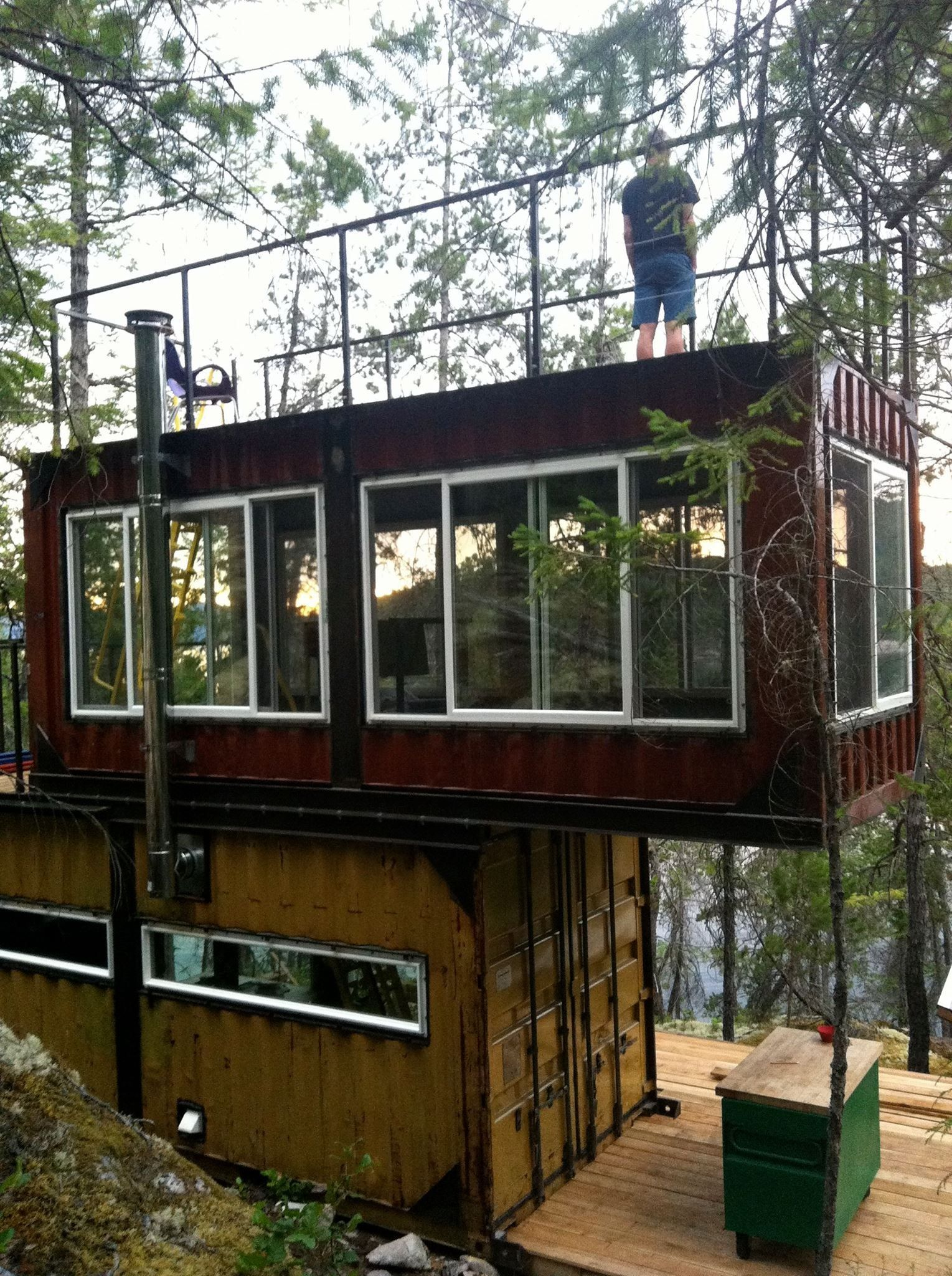 Container House Affordable Housing in Shipping