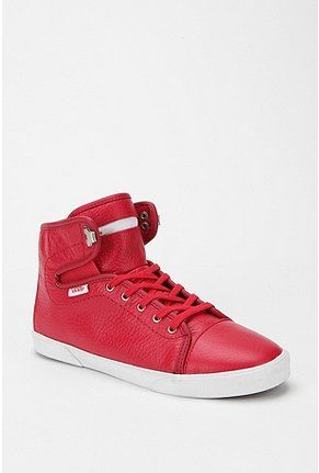 bright red high tops!