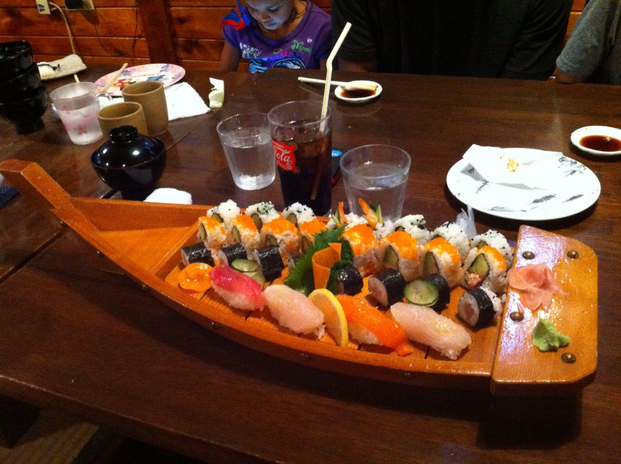 Best Sushi Bar I know of on Okinawa. YOSHI HACHI'S ... - photo#37