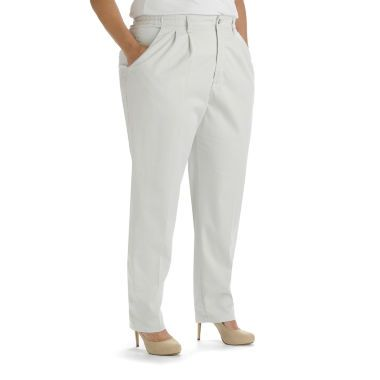 c81b810e76d Lee® Side-Elastic Twill Pants - Plus found at  JCPenney