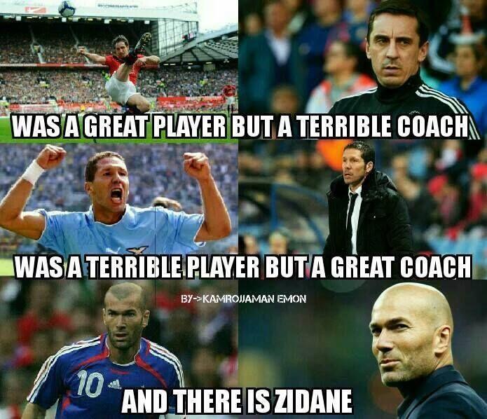 Zidane Football Highlights Football Quotes Soccer Memes Football Funny