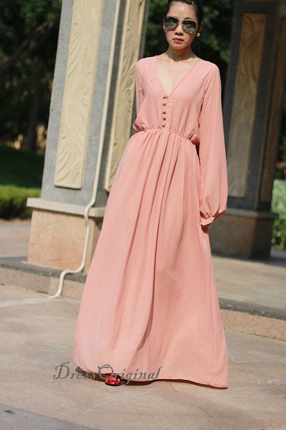 Pink Long Summer Dresses