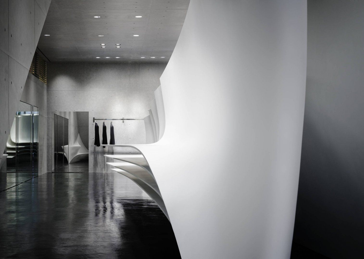 Neil Barrett Flagship Store - Architecture - Zaha Hadid Architects ...