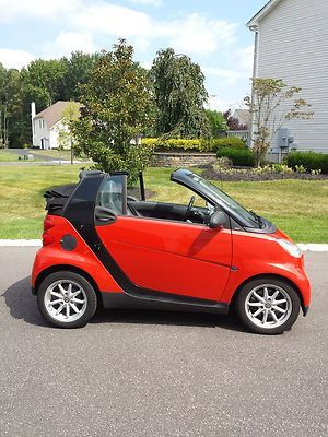 2008 Smart Fortwo Passion Cabrio Convertible 2 Door 1 0l Low