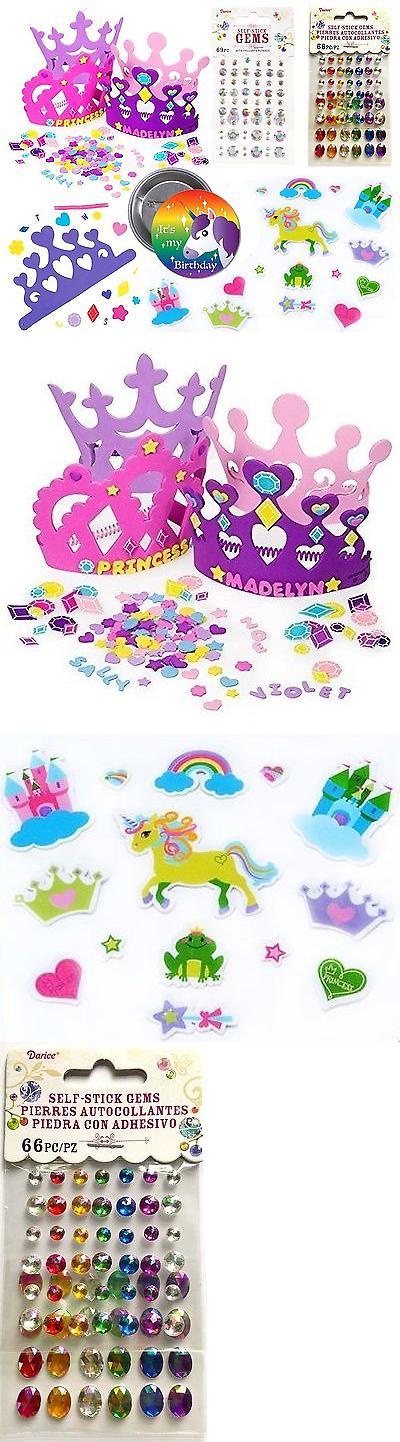 Foam and Felt Shapes 116654: Make Your Own Unicorn Princess Tiara For 12 Children 12 Foam Tiaras 102 Foam ... -> BUY IT NOW ONLY: $30.99 on eBay!