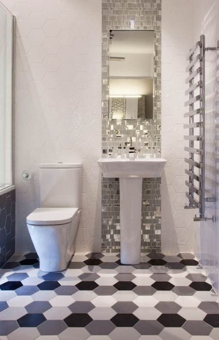Liberty Glass Mosaic Tiles On Display In Tilestyle Wet Room