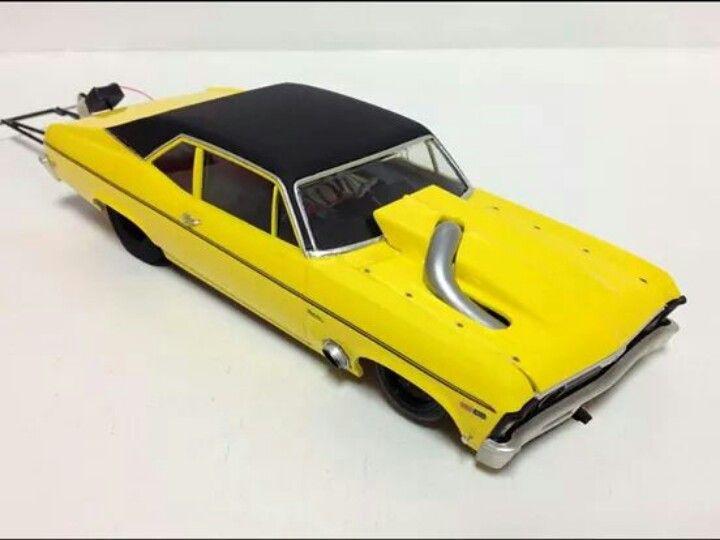 Drag Nova Plastic Model Cars Slot Cars Slot Car Drag Racing